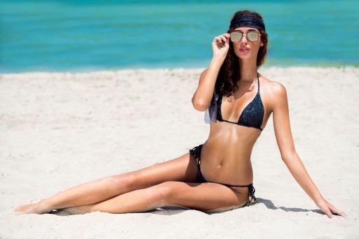 Fashion Designer Thalassa Boom Has Launched Her New Brand of Luxury Swim and Resort Wear